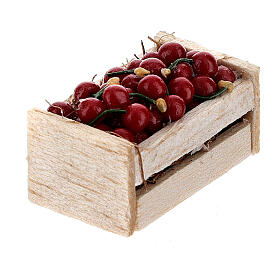 Boxes of fruits set of 12 for Nativity Scene s3