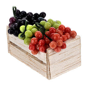 Boxes of fruits set of 12 for Nativity Scene s5