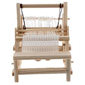 Métier à tisser bois 10x10x5 cm crèche 12-14 cm s1