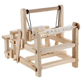Wood loom 10x10x5 cm for Nativity Scene with 12-14 cm figurines s5