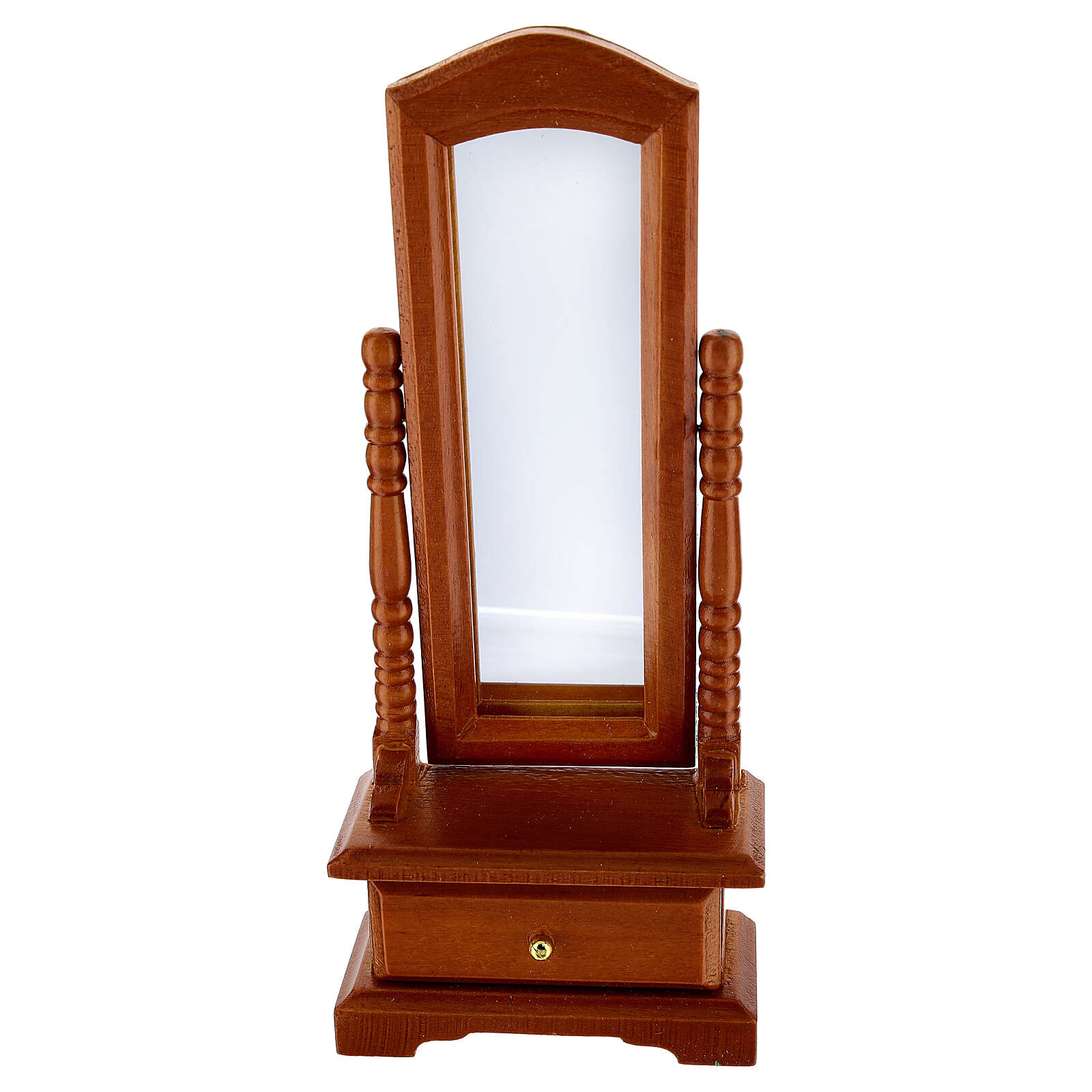 Mirror with drawer for Nativity Scene with 10-12 cm figurines 4