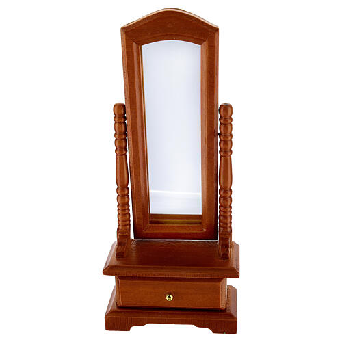Mirror with drawer for Nativity Scene with 10-12 cm figurines 1