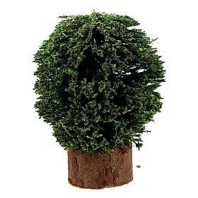 Cespugli vaso in legno 4 pz h reale 5 cm presepe 8 cm s2