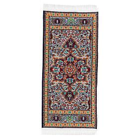 Tappeto decorato 13x6 cm presepe 14-20 cm s2