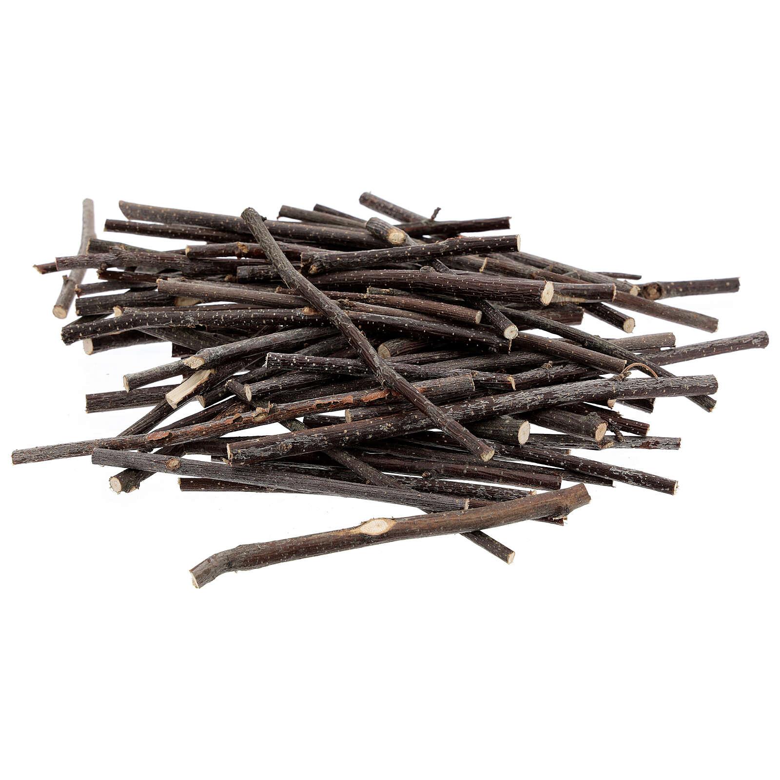 Rametti legno varie misure conf. 100 gr presepe 4