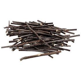 Rametti legno varie misure conf. 100 gr presepe s1