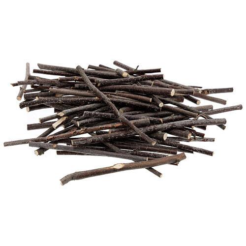 Ramos madeira diferentes tamanhos pacote 100 g bricolagem presépio 1