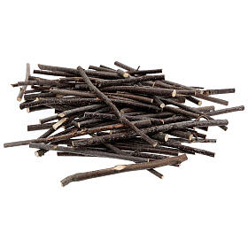 Wood branches different sizes bag of 100 gr for DIY Nativity Scene s1