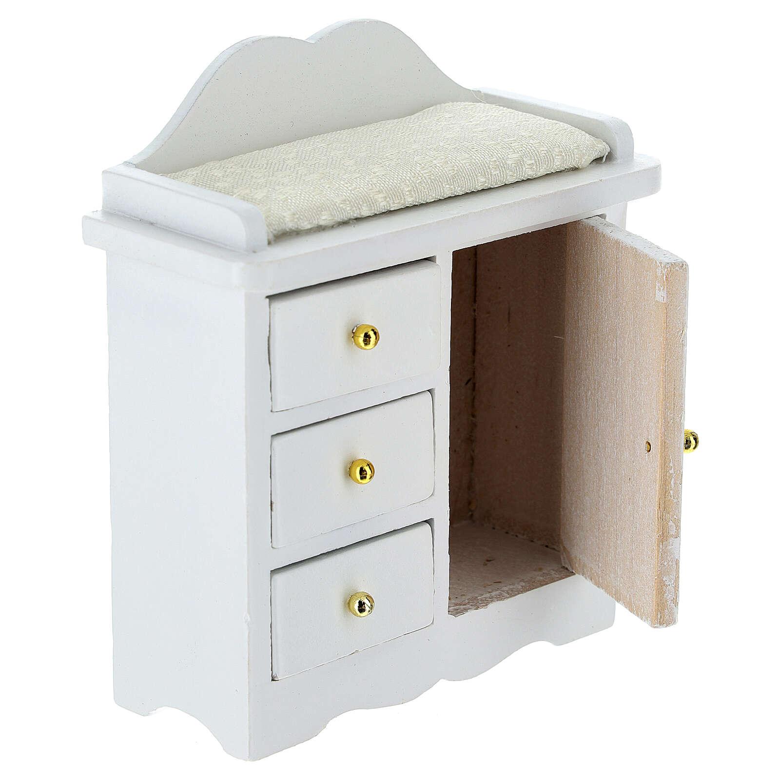 Mueble cambiador blanco belén 12-14 cm 4