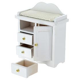 Mueble cambiador blanco belén 12-14 cm s2