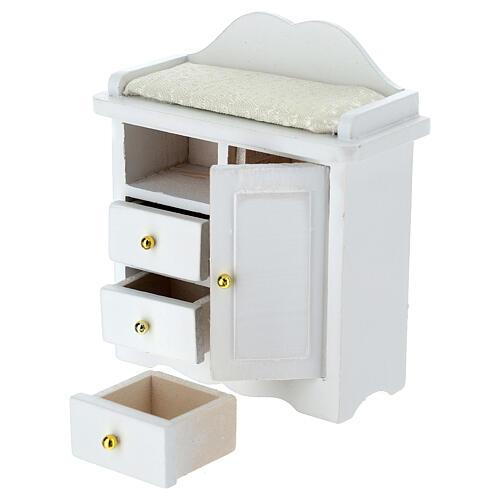 Mueble cambiador blanco belén 12-14 cm 2