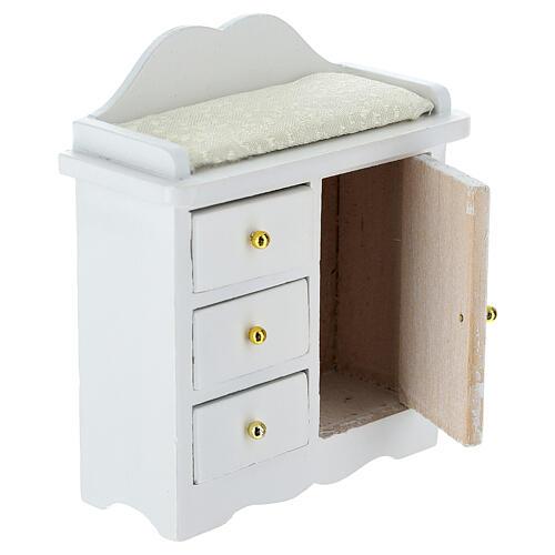 Mueble cambiador blanco belén 12-14 cm 3