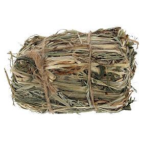 Bale of hay 4x7x5 cm Nativity scene 8-10-12 cm s1