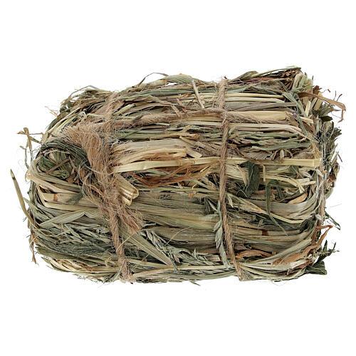 Bale of hay 4x7x5 cm Nativity scene 8-10-12 cm 1