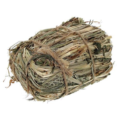 Bale of hay 4x7x5 cm Nativity scene 8-10-12 cm 2