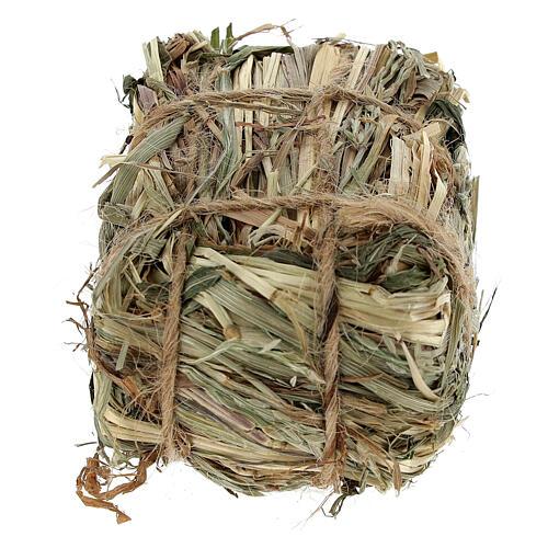 Bale of hay 4x7x5 cm Nativity scene 8-10-12 cm 3
