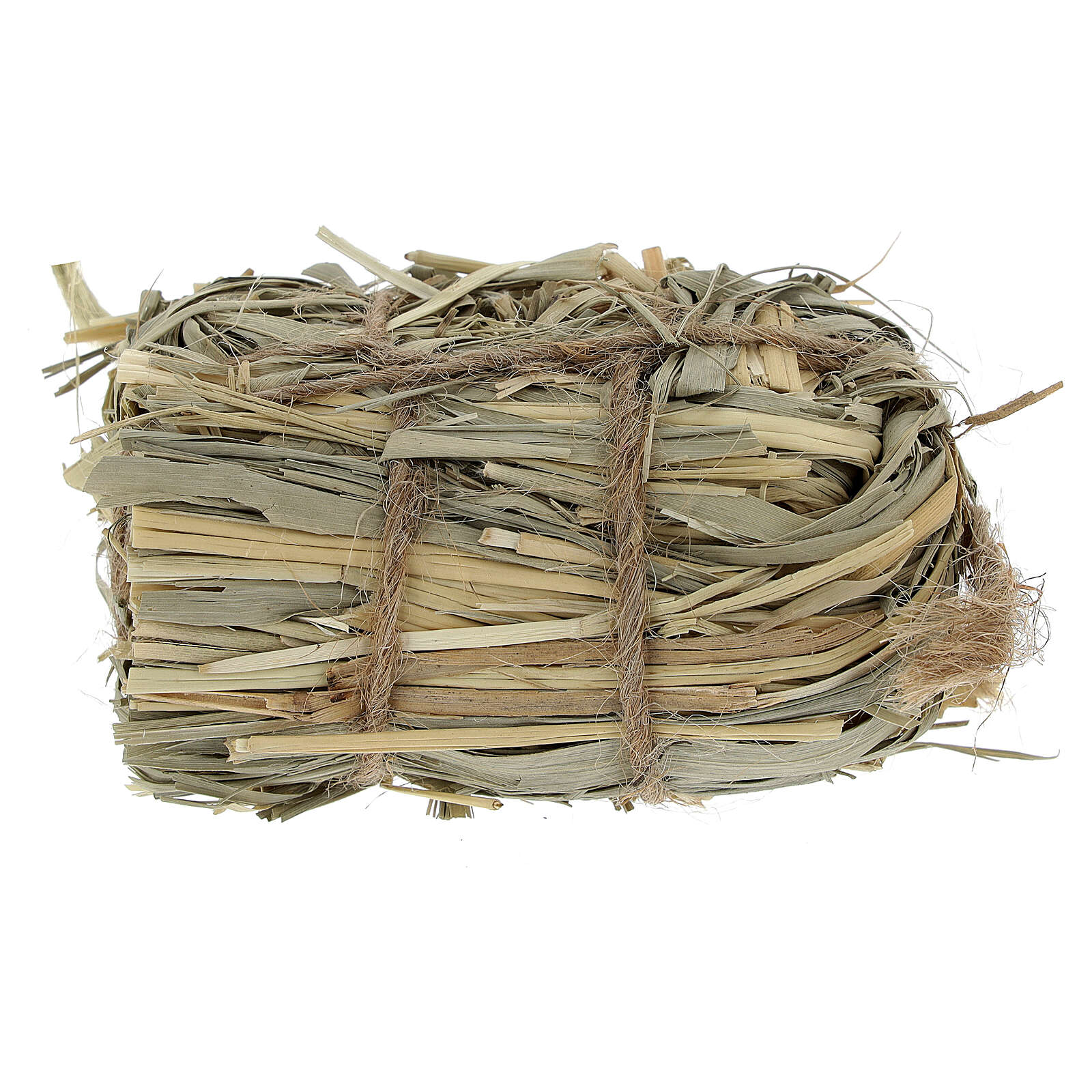 3x7x4 cm Nativity scene hay bale for Nativity scenes 8-10-12 cm 4
