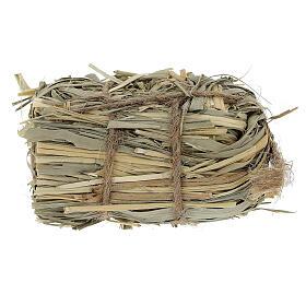 3x7x4 cm Nativity scene hay bale for Nativity scenes 8-10-12 cm s1