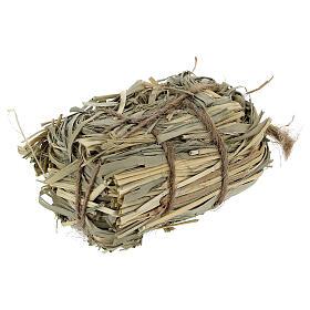 3x7x4 cm Nativity scene hay bale for Nativity scenes 8-10-12 cm s2