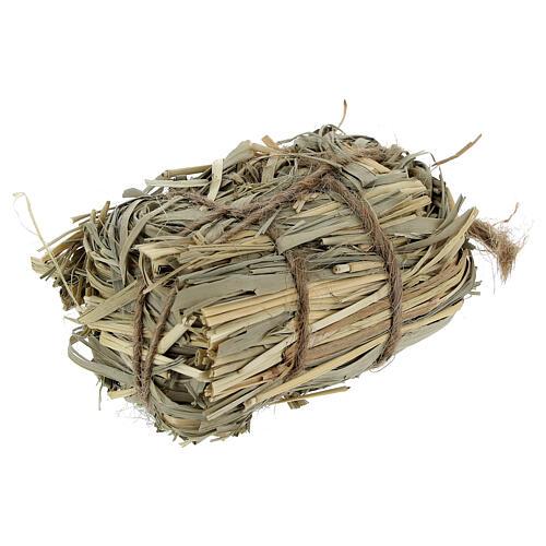 3x7x4 cm Nativity scene hay bale for Nativity scenes 8-10-12 cm 2