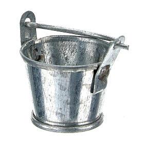 Secchiello presepe alluminio 8 cm s2