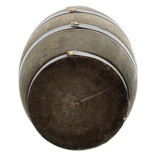 Botte riga grigia presepi 14-16 cm 3