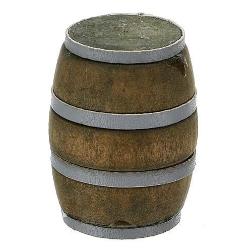 Botte 3 cm riga grigia presepe 8-10 cm 1