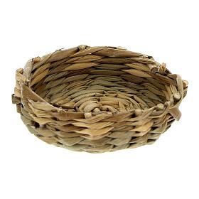 Low basket diam 4.5 cm for Nativity scenes 14-16-18 cm s1