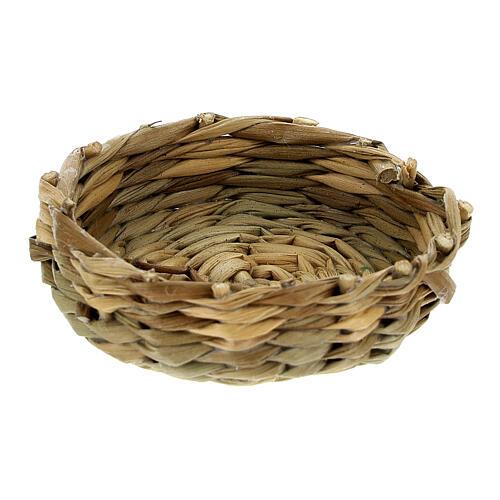 Low basket diam 4.5 cm for Nativity scenes 14-16-18 cm 1