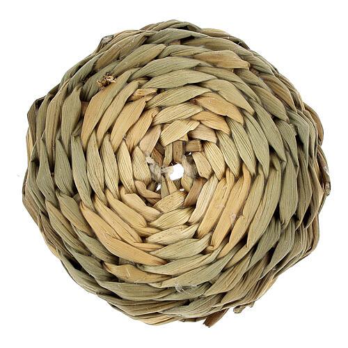 Low basket diam 4.5 cm for Nativity scenes 14-16-18 cm 3