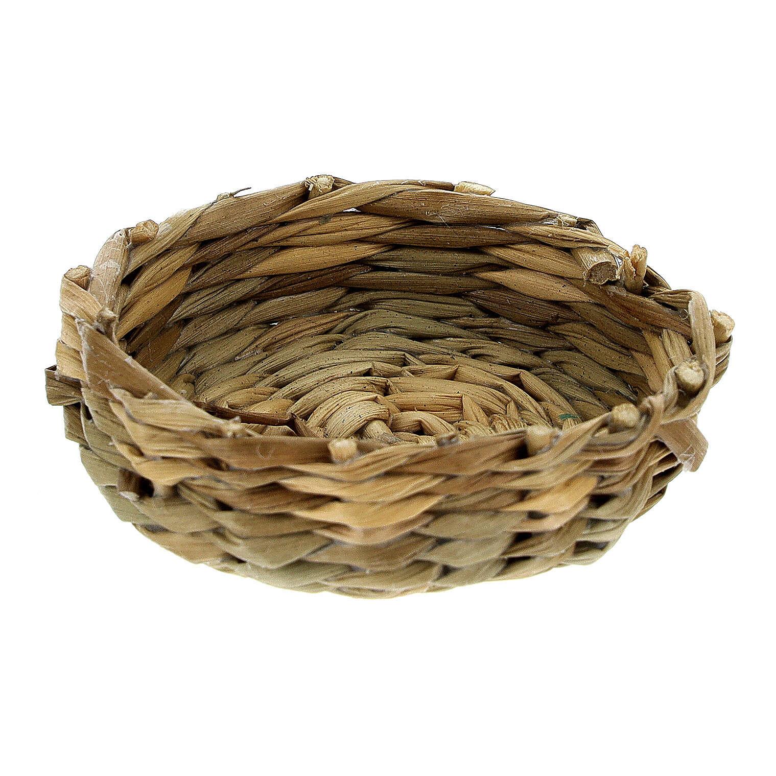 Short basket diameter 4,5 cm for Nativity Scene with 14-16-18 cm figurines 4