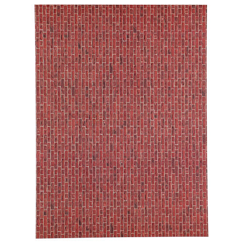 Nativity brick flooring on A3 sheet 1