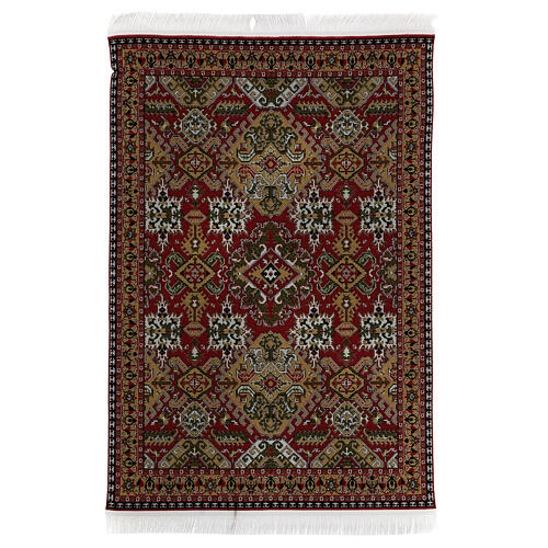 Carpet with fringes 30x20 cm for Nativity Scene with 20-30 cm figurines 6