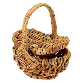 Picnic basket for Nativity Scene with 18 cm figurines s2