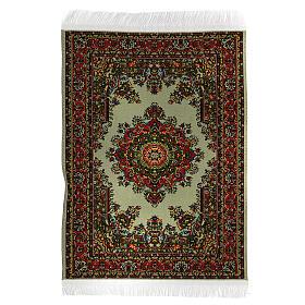 Set of 6 carpets different models 15x10 cm for Nativity Scene s6