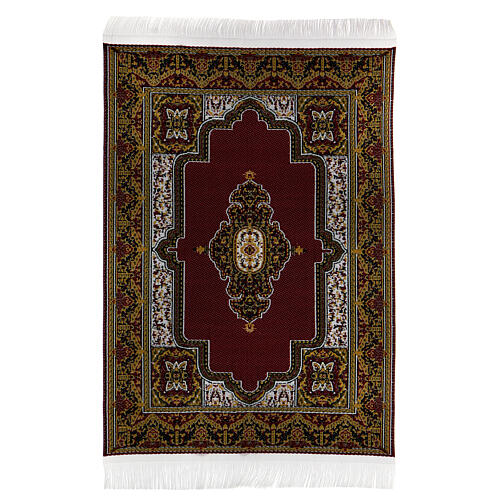 Set of 6 carpets different models 15x10 cm for Nativity Scene 5