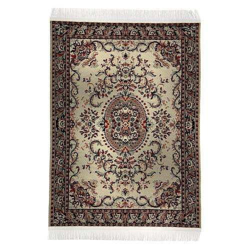 Set of 6 carpets different models 15x10 cm for Nativity Scene 7