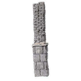 Plaster column 18x5x5 cm for Nativity Scene with 8-14 cm figurines s3