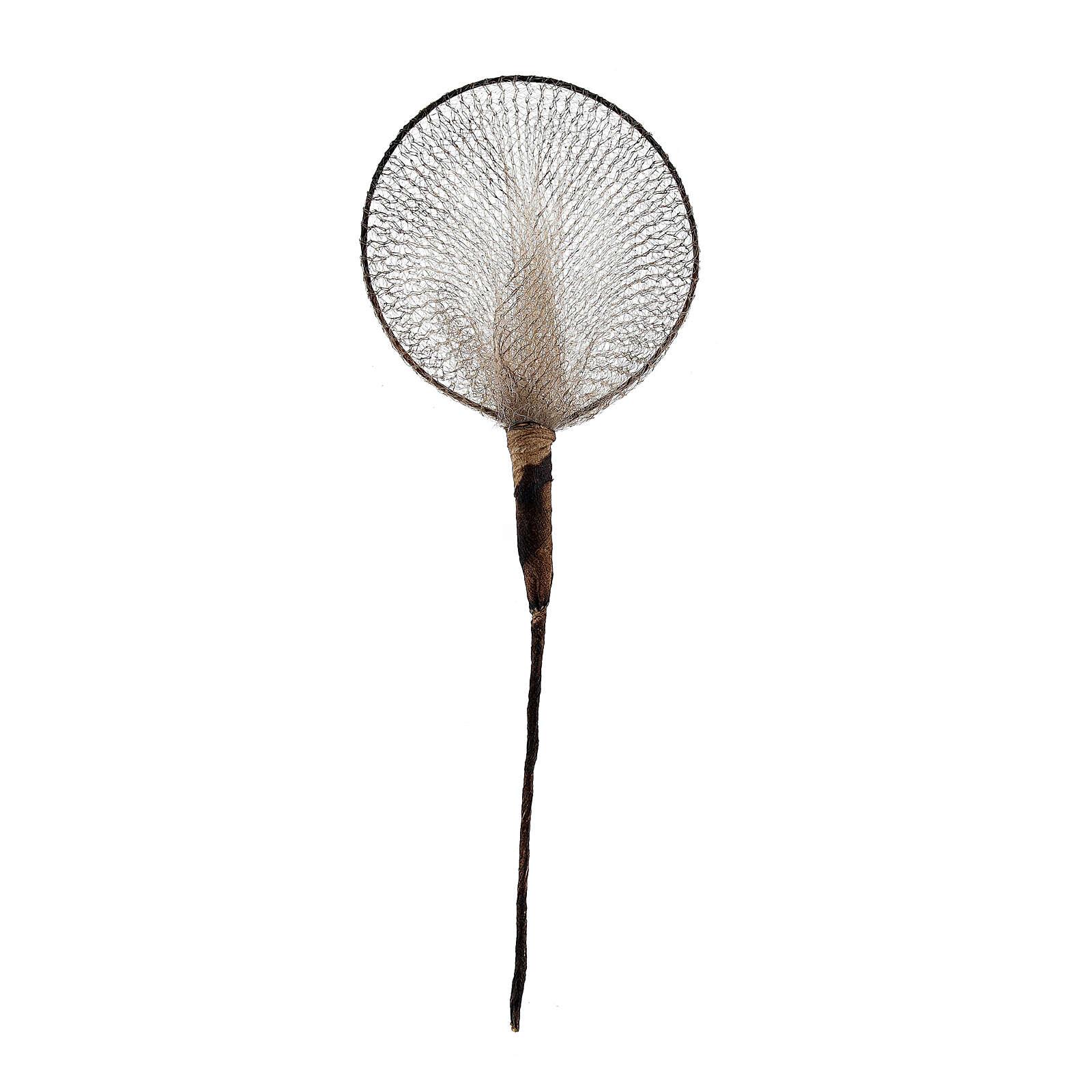 Rede de pesca em miniatura 12 cm, para presépio com figuras altura média 12-14 cm 4