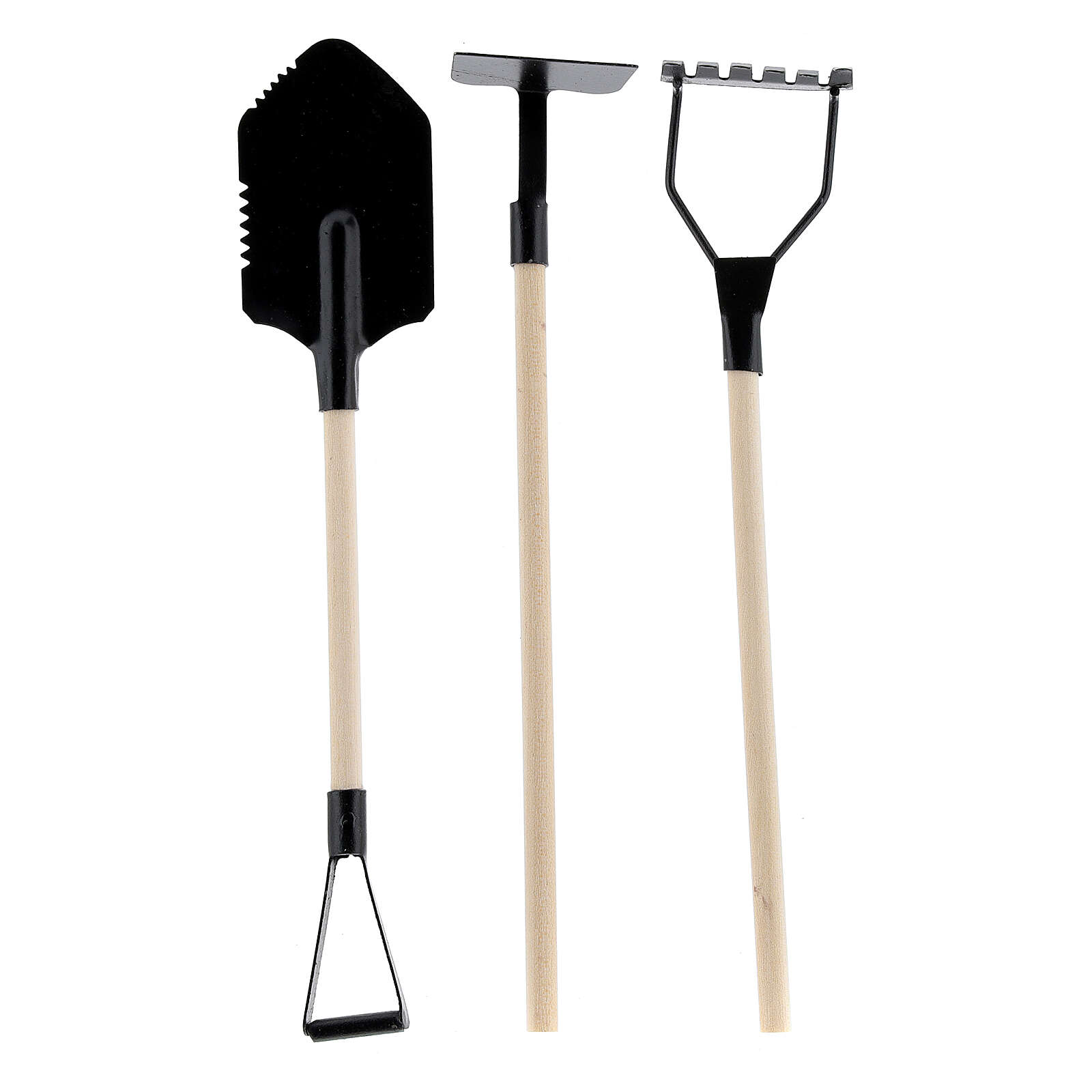 Set of 3 gardening tools for Nativity Scene with 18-20 cm figurines 4