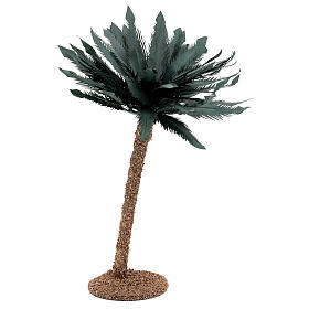 Miniature palm tree 35 cm for Nativity Scene with 12-20 cm figurines s1