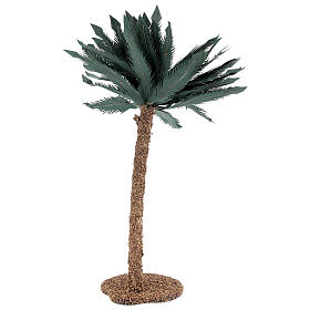 Miniature palm tree 35 cm for Nativity Scene with 12-20 cm figurines s3