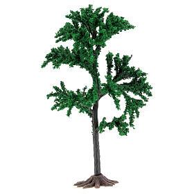 Albero chioma verde presepe 4-8 cm s1