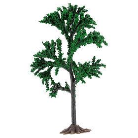 Albero chioma verde presepe 4-8 cm s2