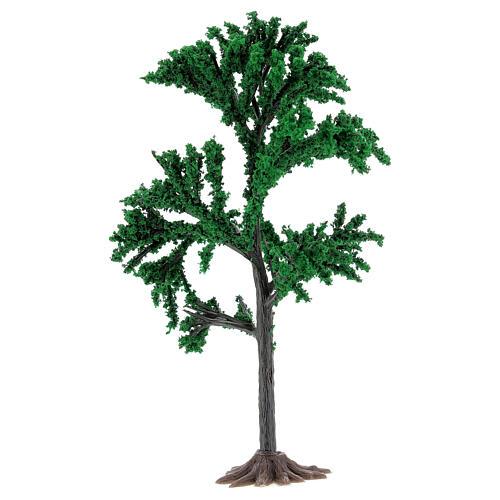 Albero chioma verde presepe 4-8 cm 2