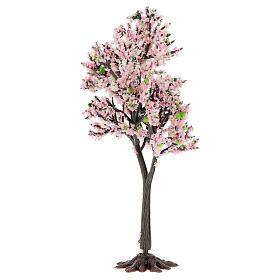 Cerejeira em flor PVC 15 cm miniatura para presépio com figuras altura média 6-10 cm s2