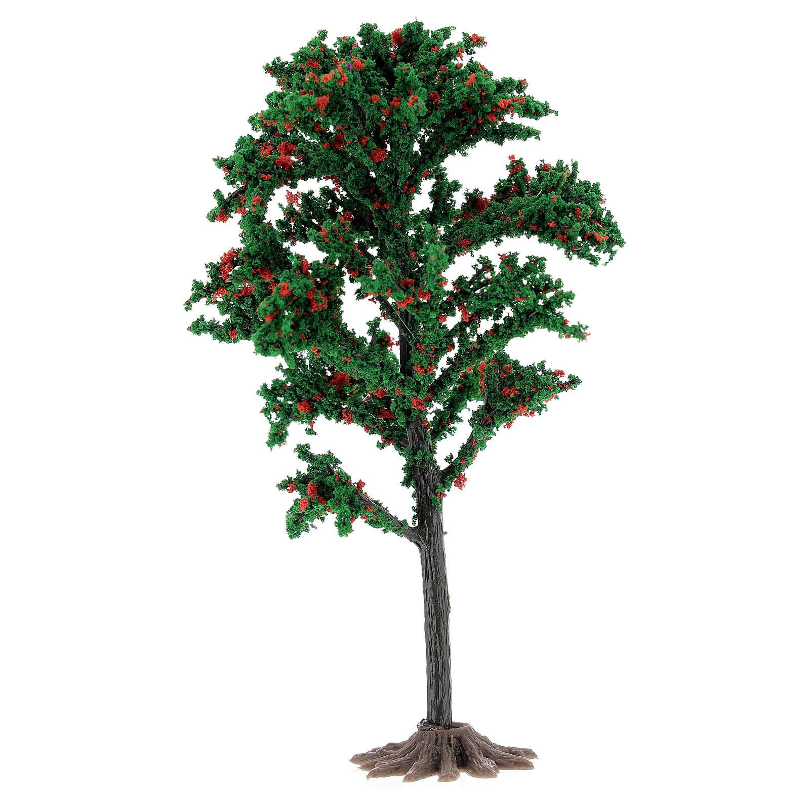 Tronc arbre crèche 15 cm pour santons 6-10 cm 4