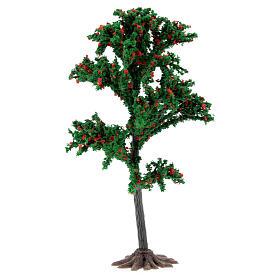 Tronc arbre crèche 15 cm pour santons 6-10 cm s1