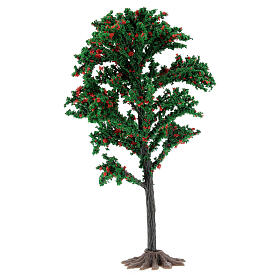 Tronc arbre crèche 15 cm pour santons 6-10 cm s2
