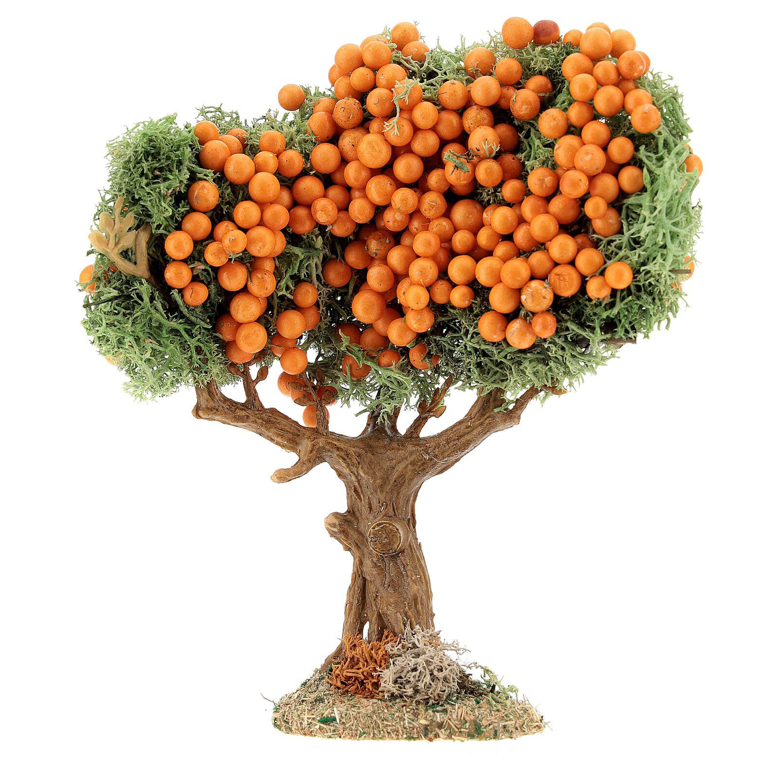 Albero frutta presepe h 16 cm per statue 8-12 cm 4